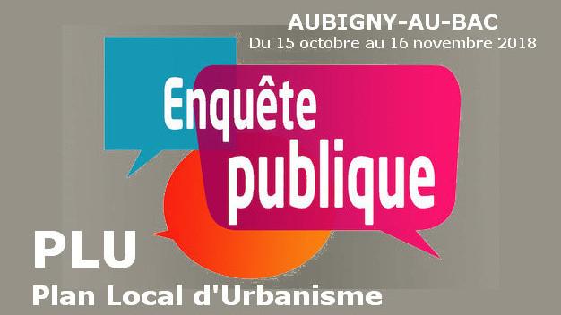 Avis d'enquête publique Plan Local d'Urbanisme