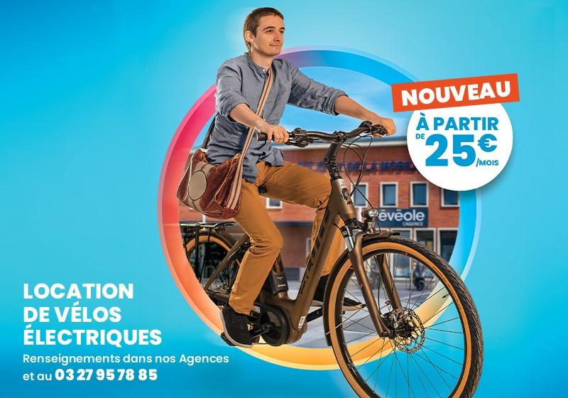 Location vélo à assistance électrique